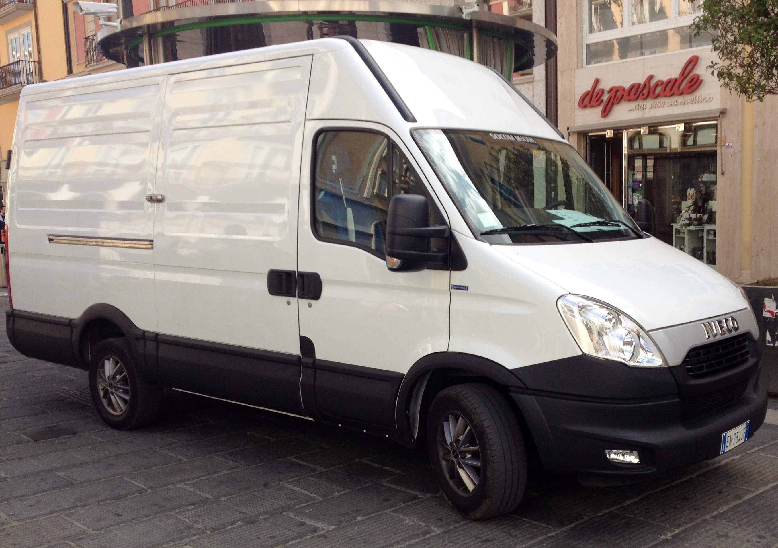 Beispiel Kastenwagen (Iveco Daily)