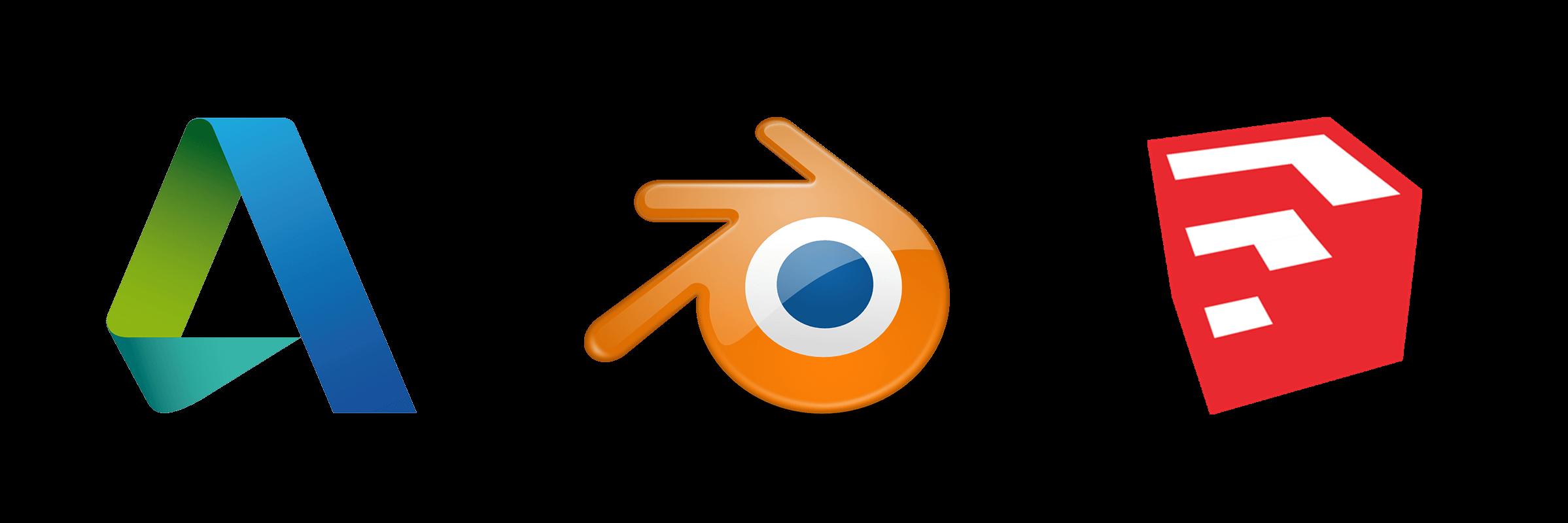 Logos 3D-Modelling-Programme