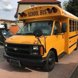School Bus Exterior Front
