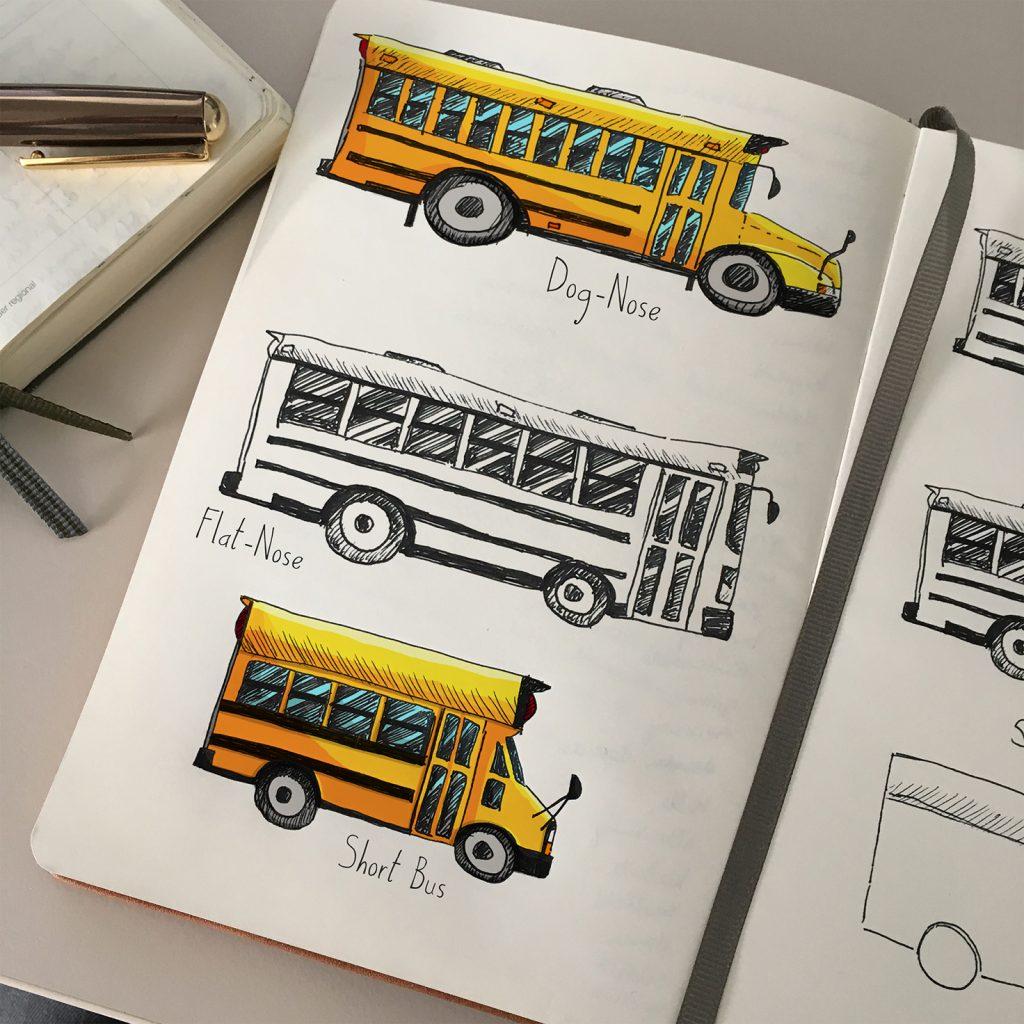 Bus-Typen